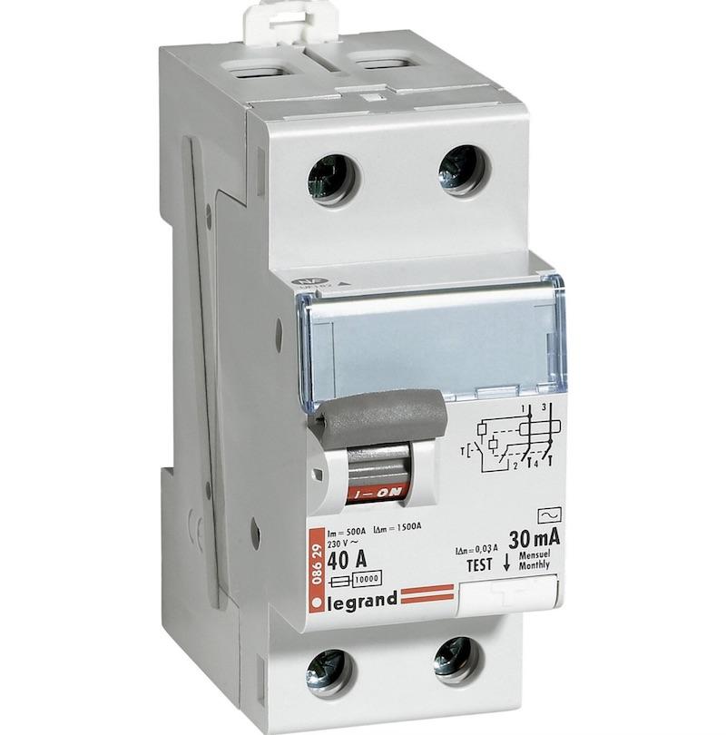interrupteur differentiel 30mA NFC 15100 contrôle consuel