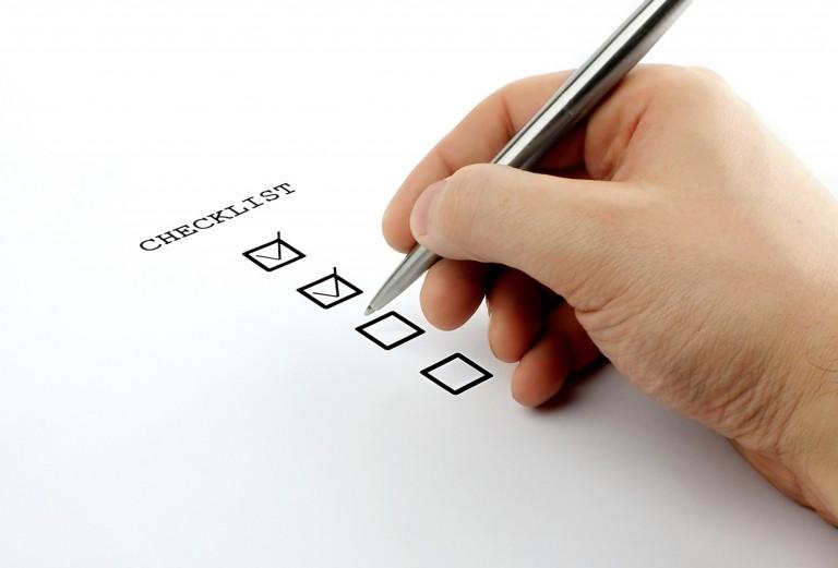La fiche d'auto contrôle NF C 15-100 avant la vérification du consuel