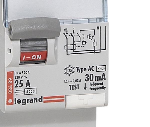 bouton test interrupteur differentiel maintenance electrique preventive
