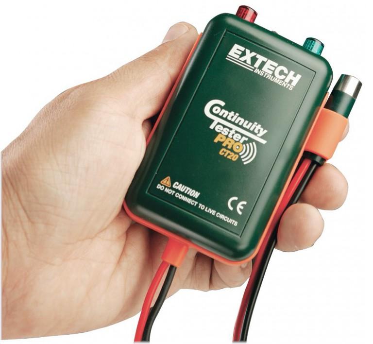 Extech CT20, avis du testeur de cable électrique et de continuité