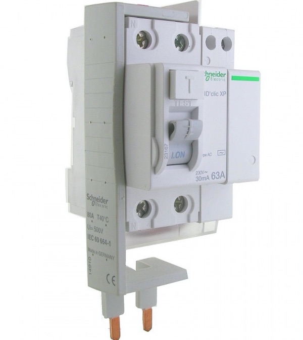 peigne alimentation vertical schneider electric