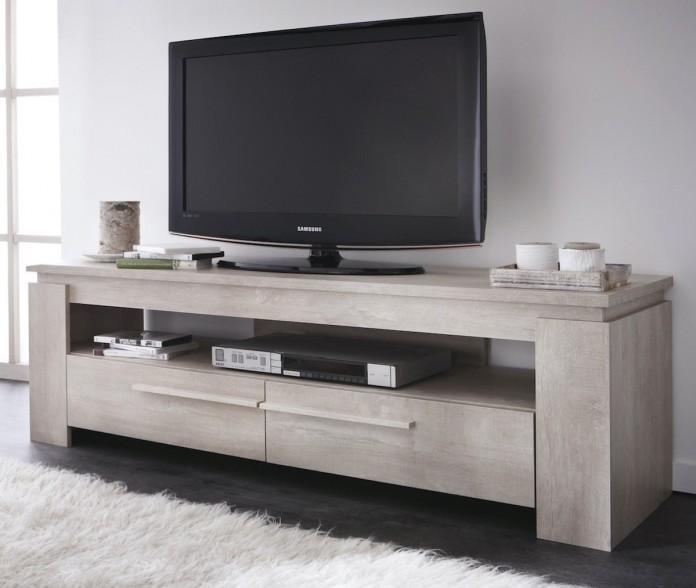 Prise électrique pour le meuble TV