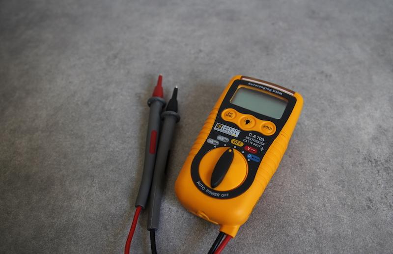 test multimètre de poche Chauvin Arnoux CA 703