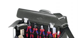 caisse à outils d'électricien