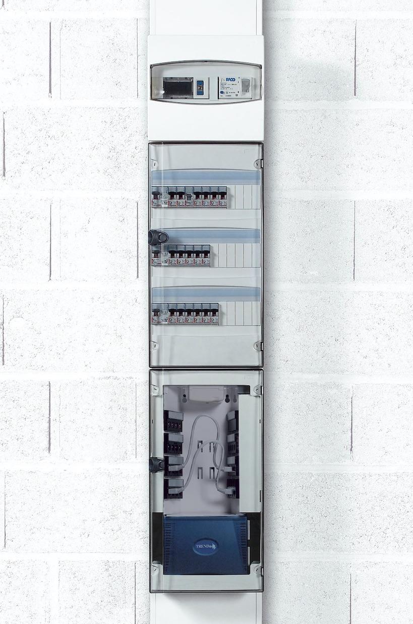 Goulotte gtl et tableau lectrique la m thode pour les - Tableau electrique encastrable legrand ...