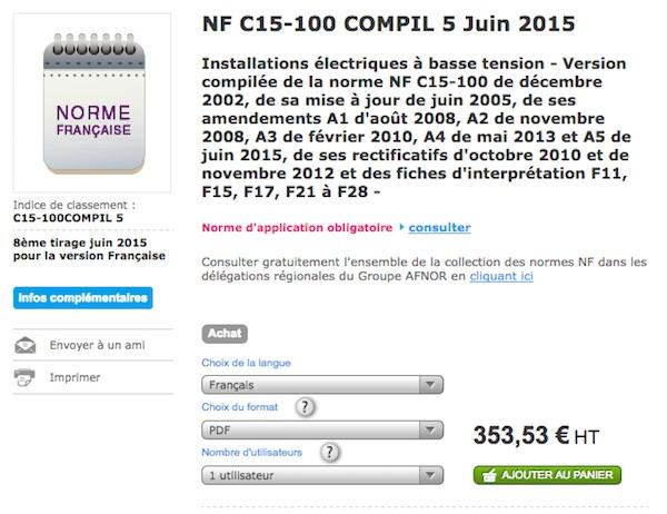 Nfc 15 100 devenez incollable sur la norme lectrique for Norme nfc 15 100 cuisine