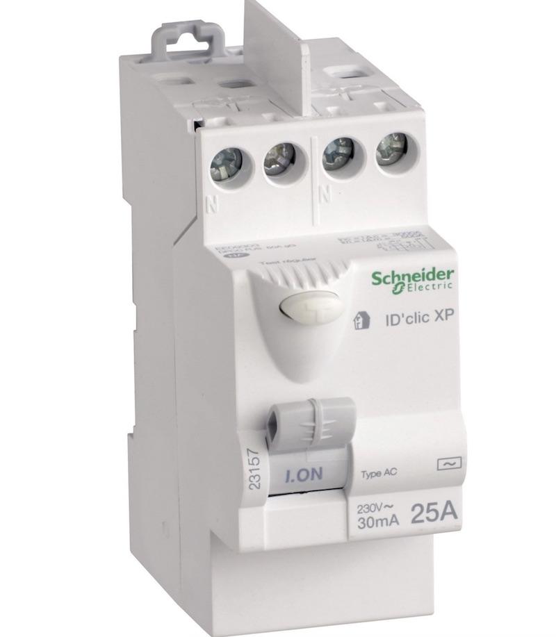 interrupteur differentiel type AC