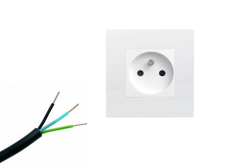 Cablage prise électrique 2,5mm2 ou 1,5mm2: Analyse de cout et matériel