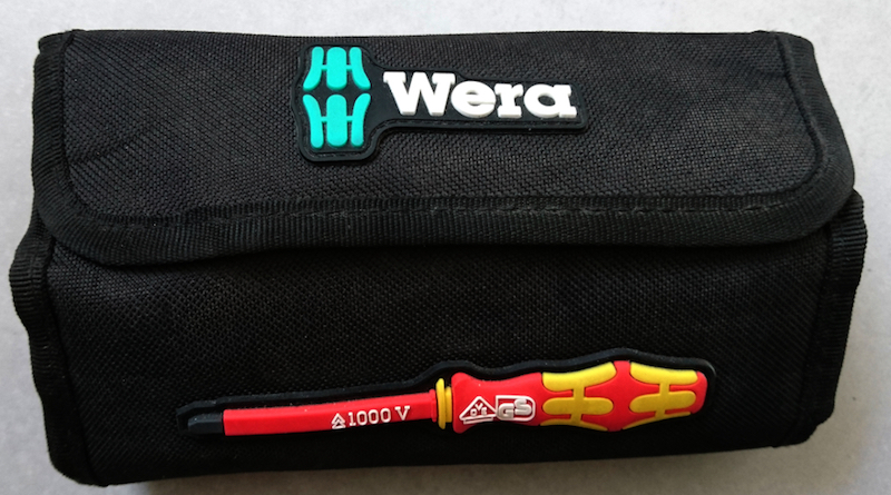 tournevis wera test pochette Wera Kraftform Kompakt