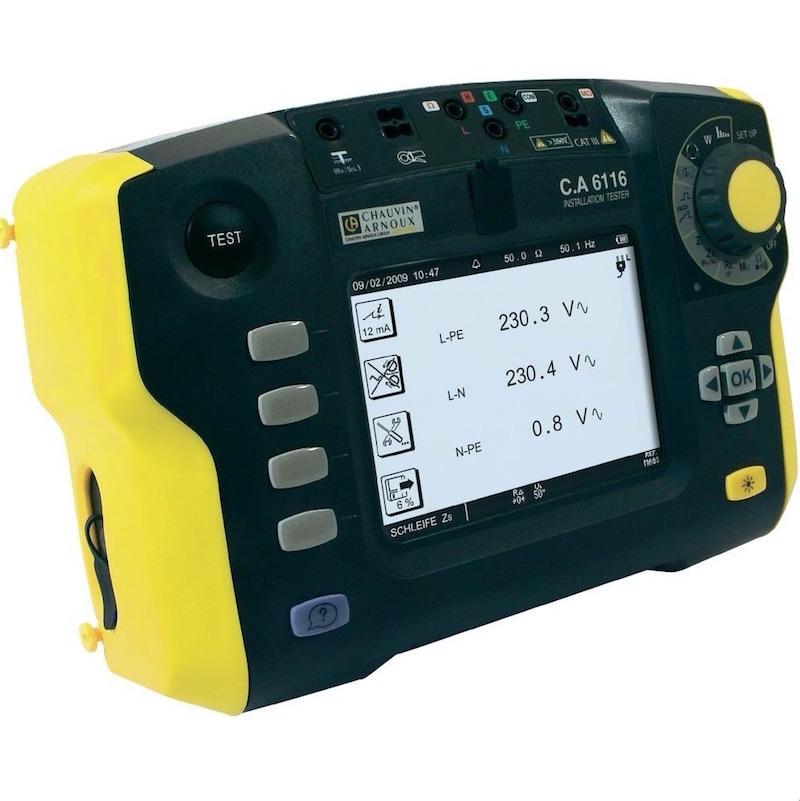 controleur installation électrique CA6116