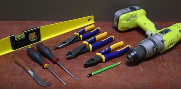 outils-non-isole-montage-tableau-electrique