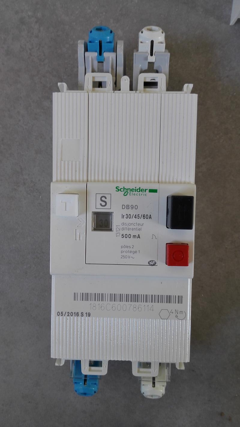 ouverture disjoncteur EDF abonné 500mA