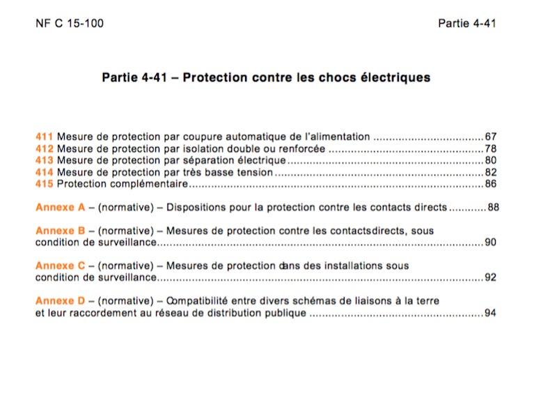protection-contre-les-chocs-electriques-tbts-norme-nf-c-15-100