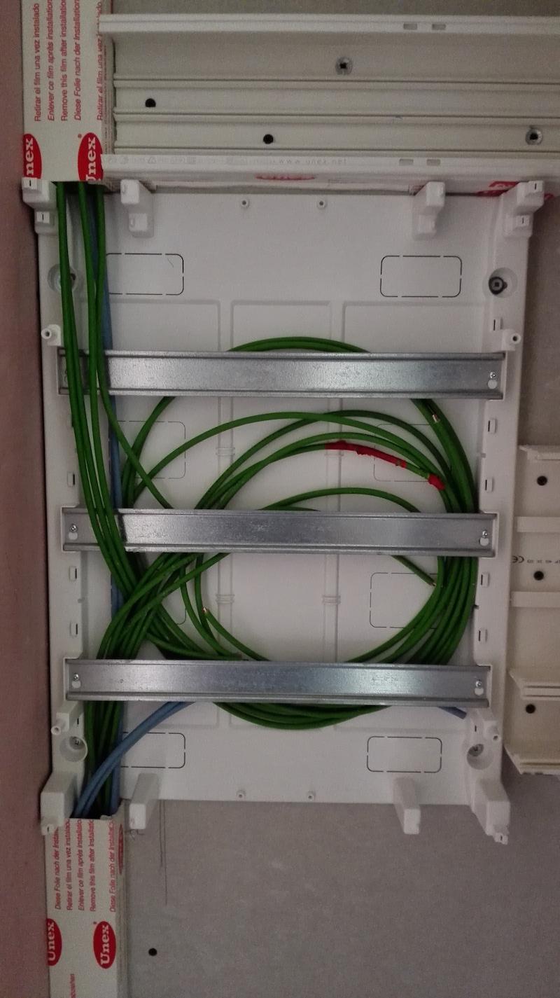 tableau electrique 18 modules domotique ABB