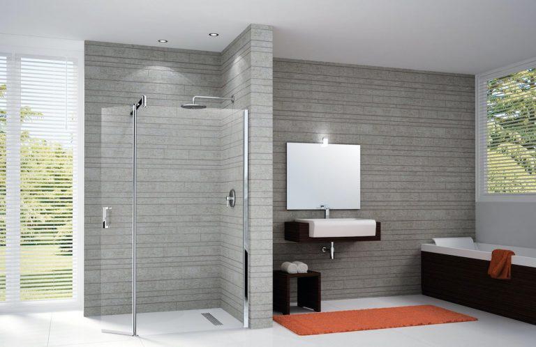 La paroi de douche, le volume dans la salle de bain et la norme NF C 15-100
