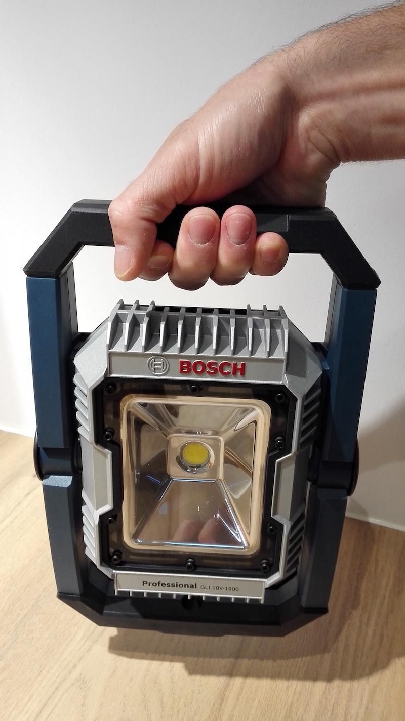 portabilite projecteur de chantier 18v-1900 gli Bosch