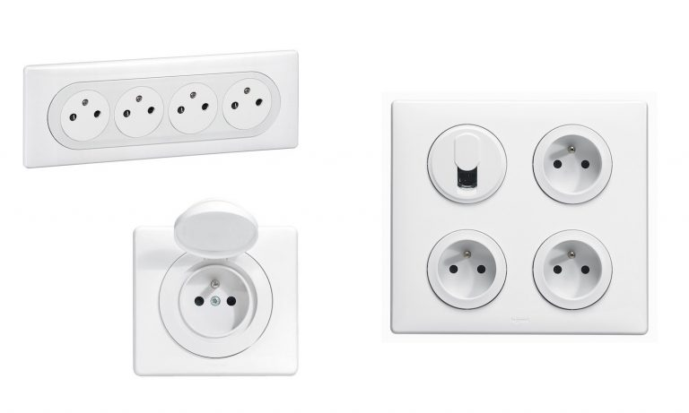 Des prises électriques en nombre suffisant pour une installation électrique confortable