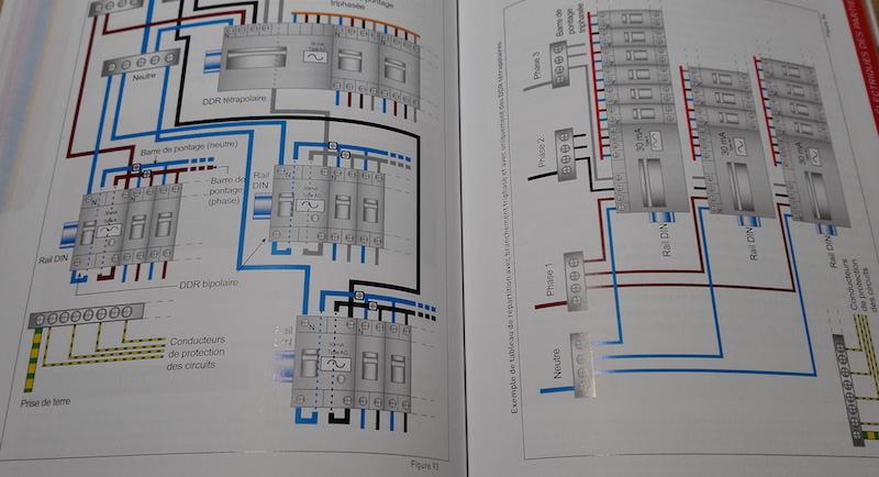 schema électrique officiel de l'électricite