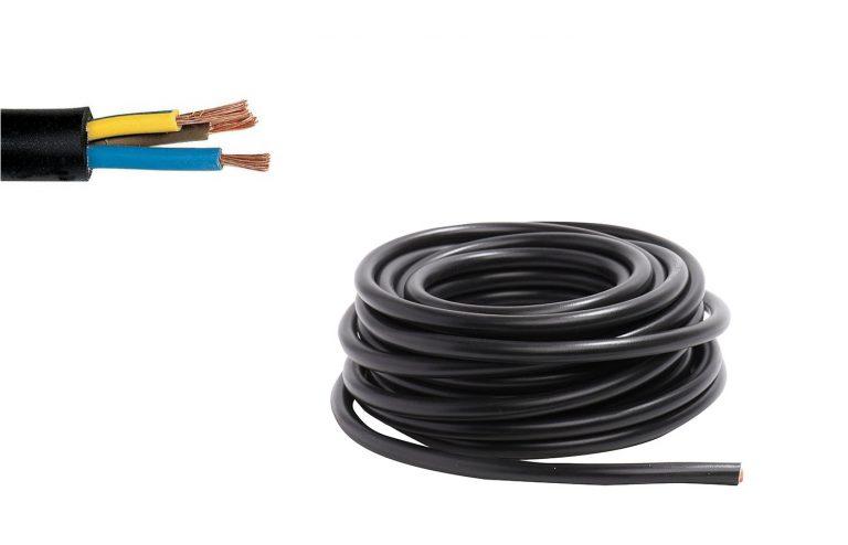 Cable 3G6mm2 (ou 3G10mm2), branchement électrique de la plaque de cuisson