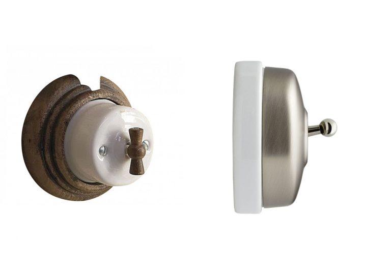Prise et Interrupteur Fontini: test de l'appareillage fontini rétro porcelaine
