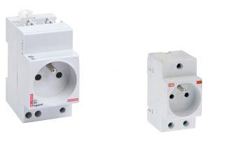 prise modulaire pour le tableau électrique