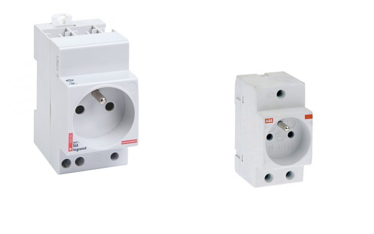 Prise Modulaire: La prise 2P+T du tableau électrique et de la GTL