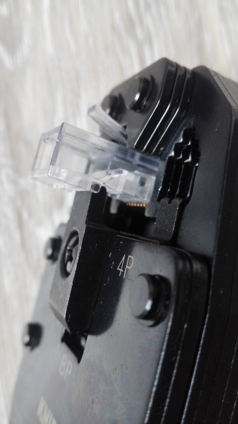 pince sertir RJ45