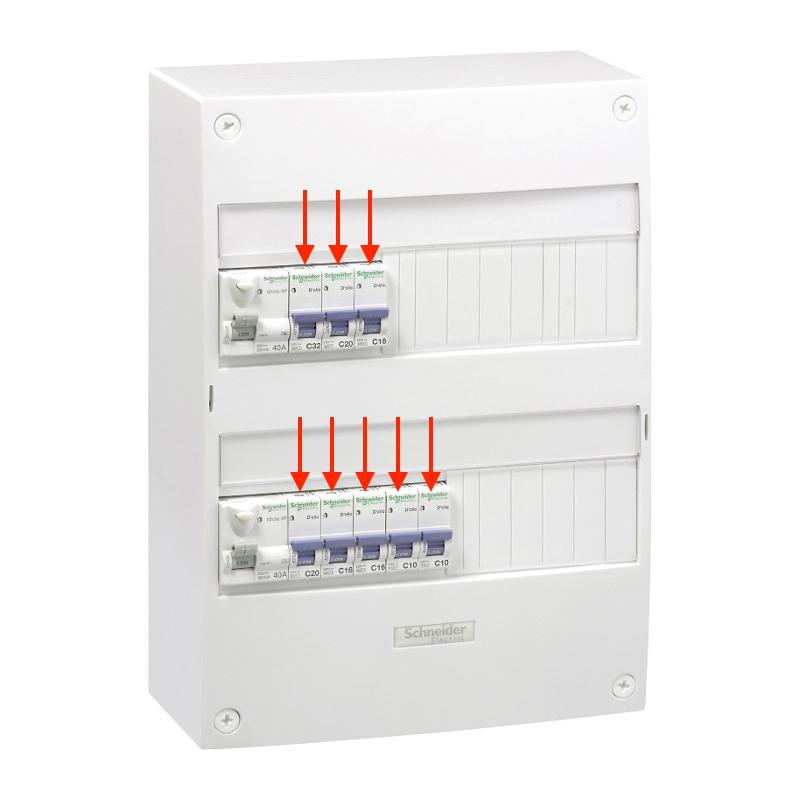 disjoncteur panne électrique coffret