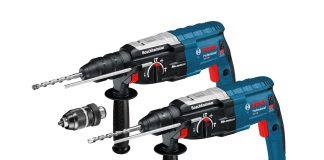 test du perforateur Bosch GBH 2-28F