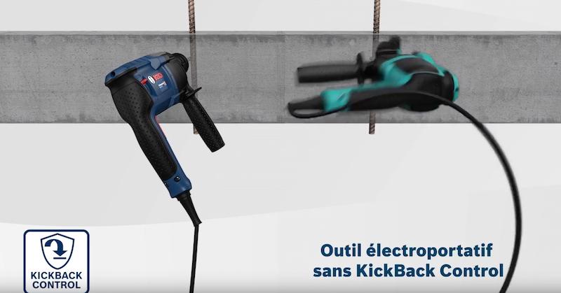 perforateur filaire Bosch Kcik Back Control