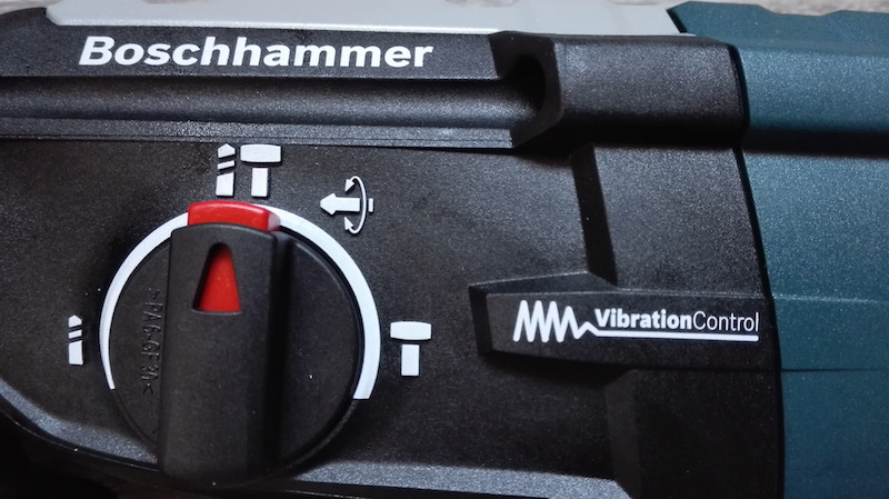 vibration control Bosch