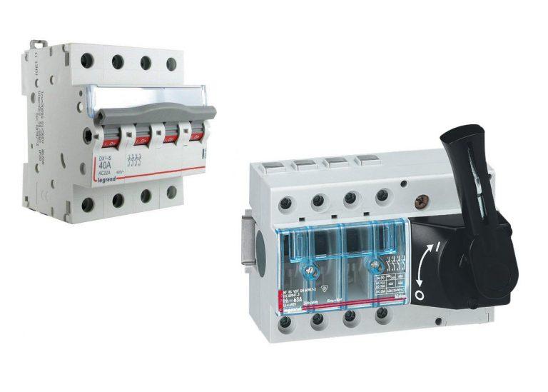 Interrupteur sectionneur: définition, rôle et branchement électrique