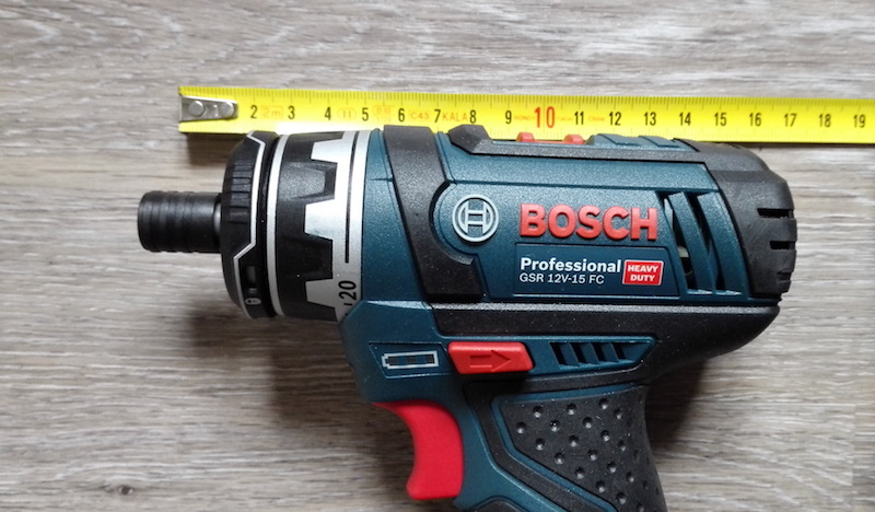 avis comparatif visseuse Bosch GSR 12V