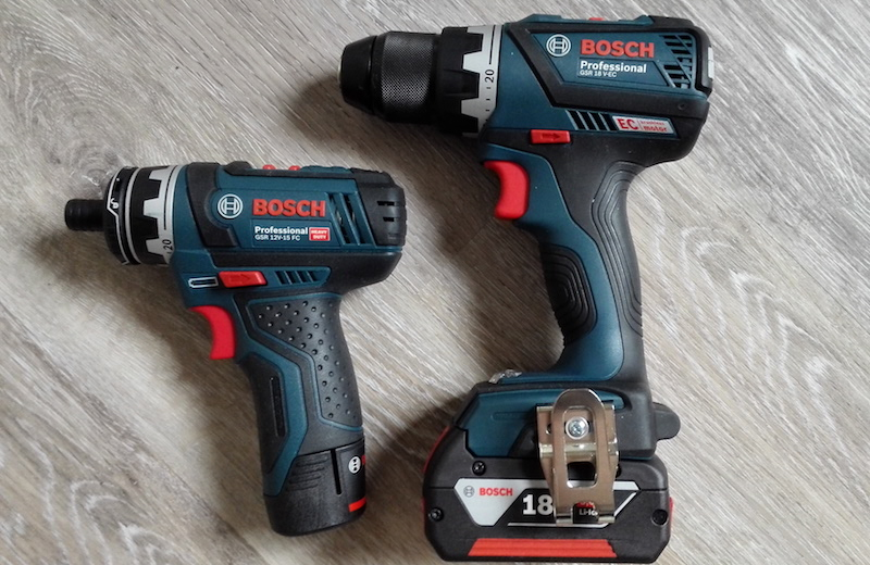avis visseuse Bosch GSR 12V