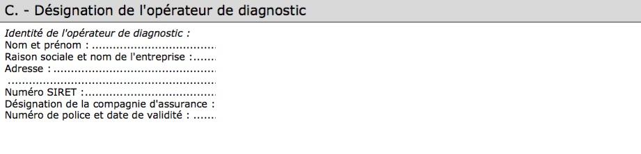 DEO Diagnostic électrique obligatoire