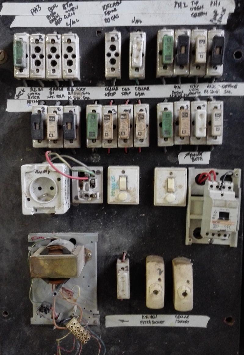 contrôle électrique pour vente de maison