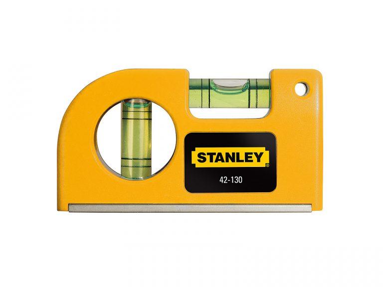 Test du petit niveau à bulle aimanté Stanley 042130