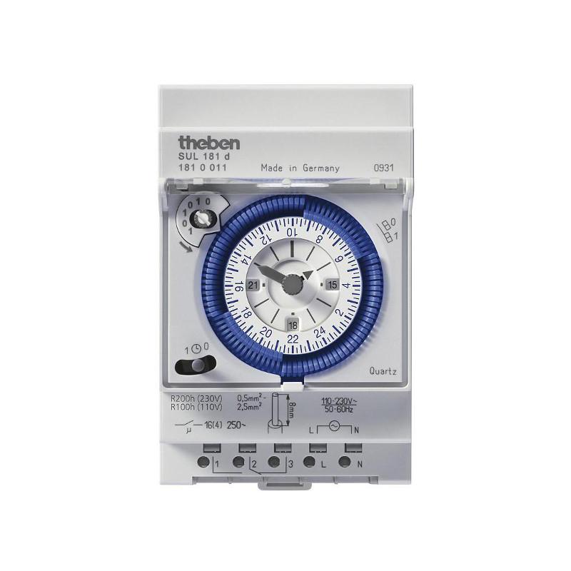horloge theben modulaire