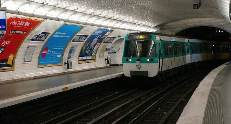 origine montage électrique métro