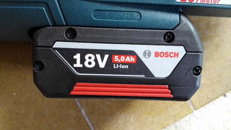 batterie Scie sabre Bosch sans fil 5 Ah