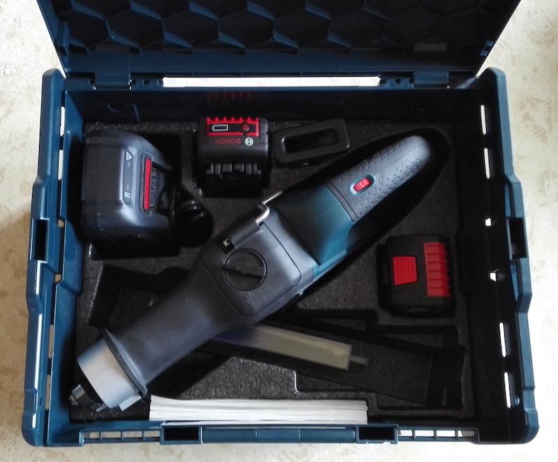 scie sabre portative Bosch