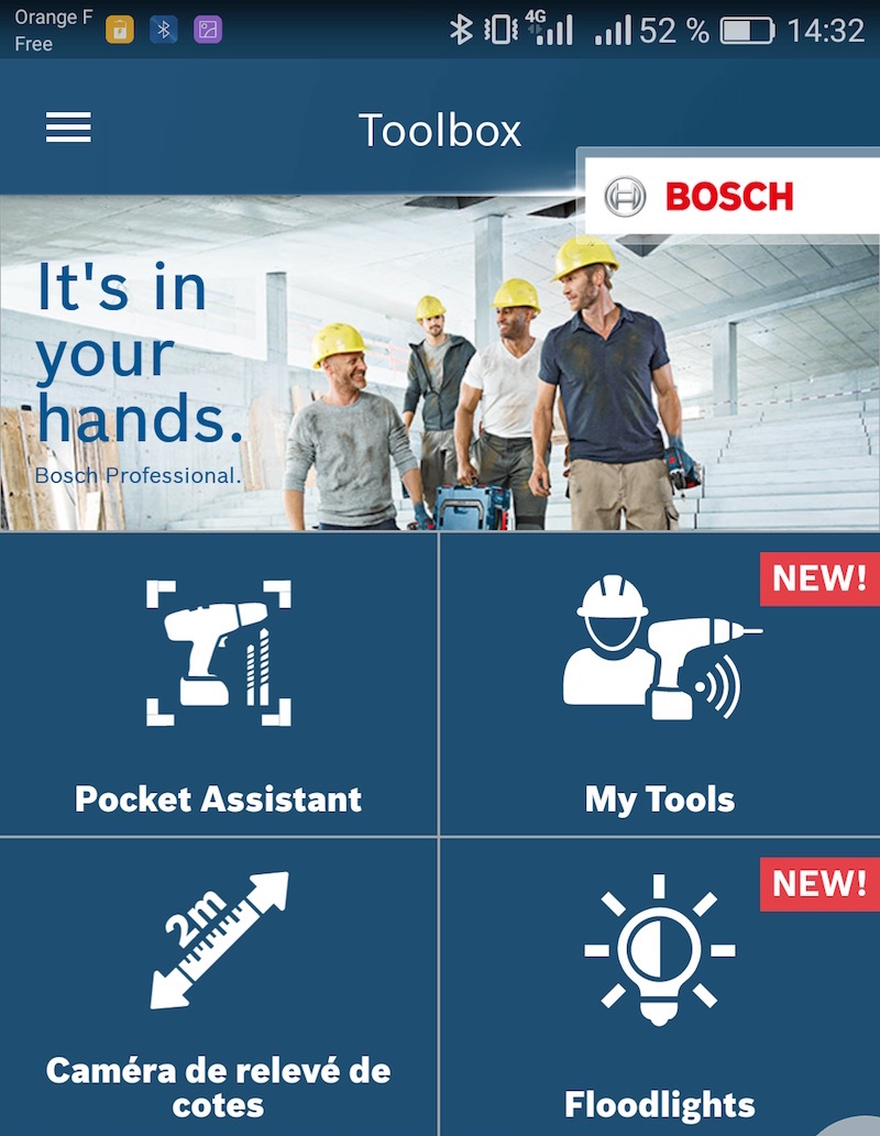test Meuleuse Angulaire Bosch 125mm 18V PSC