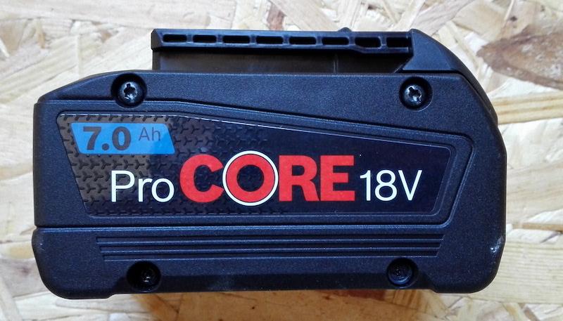 Acheter une batterie Bosch Procore 18V
