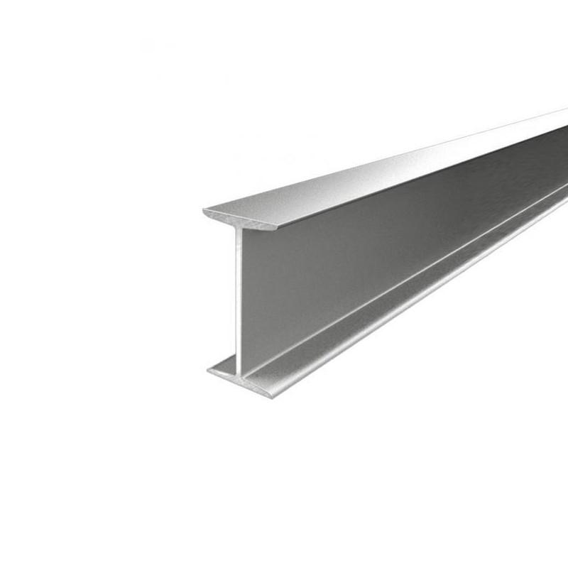 Fixation tube IRL pour poutre IPN métal