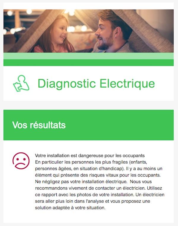rapport audit installation électrique
