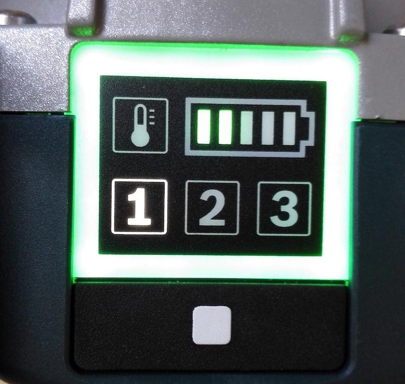 Meuleuse Bosch vitesse fonctionnement