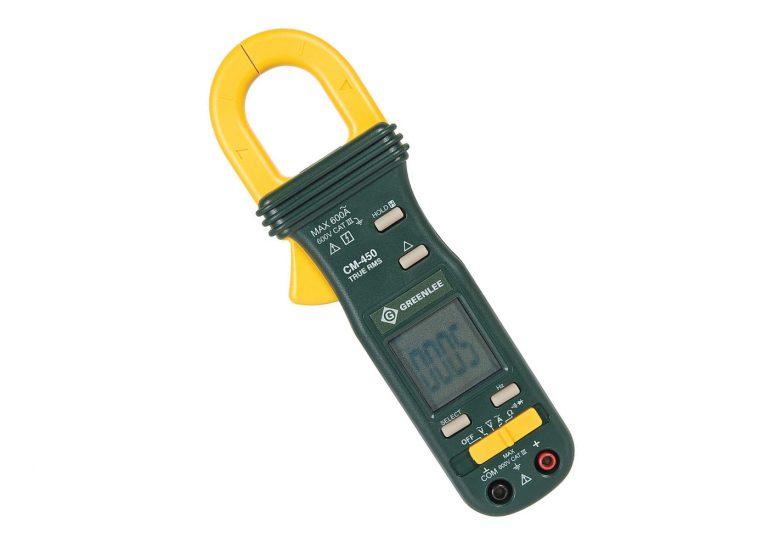 Pince multimètre: test de la pince Ampèremétrique Klauke-Greenlee CM450