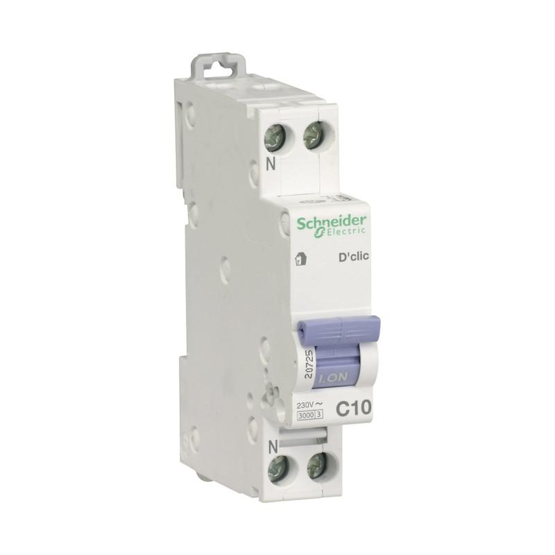 disjoncteur électrique et protection contre le courant de court circuit