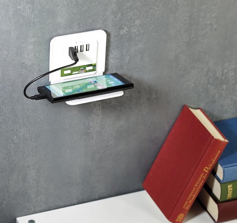 connecteur mural USB