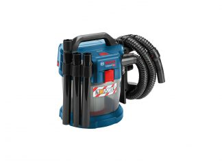 test de l'Aspirateur Bosch 18V de chantier GAS 18V